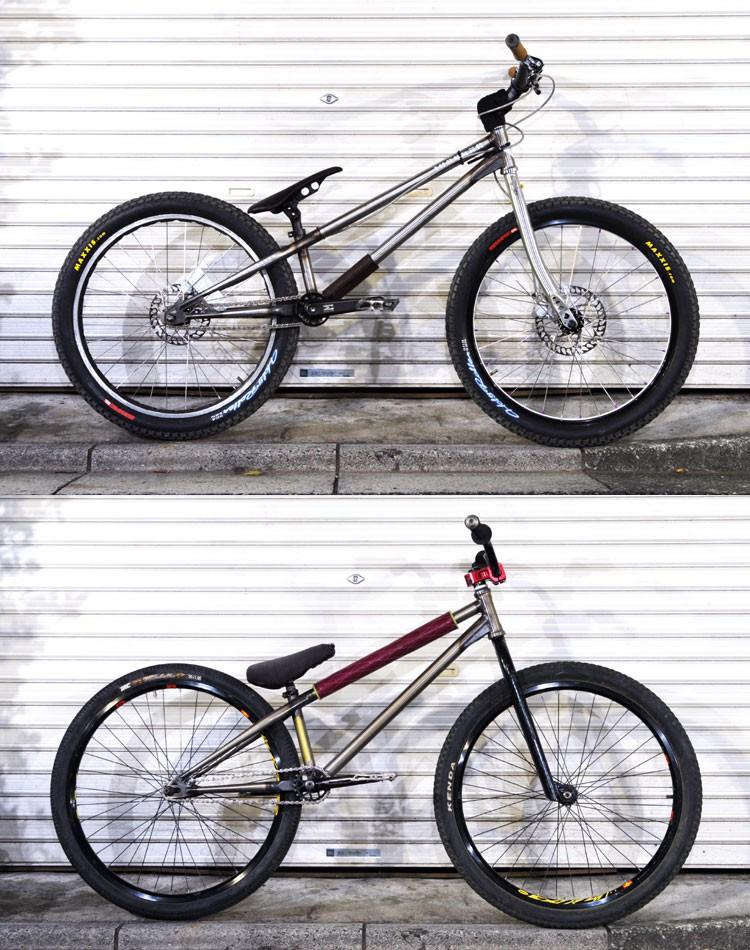 jinken's trMOZU Bike & Kudo's brMOZU Bike