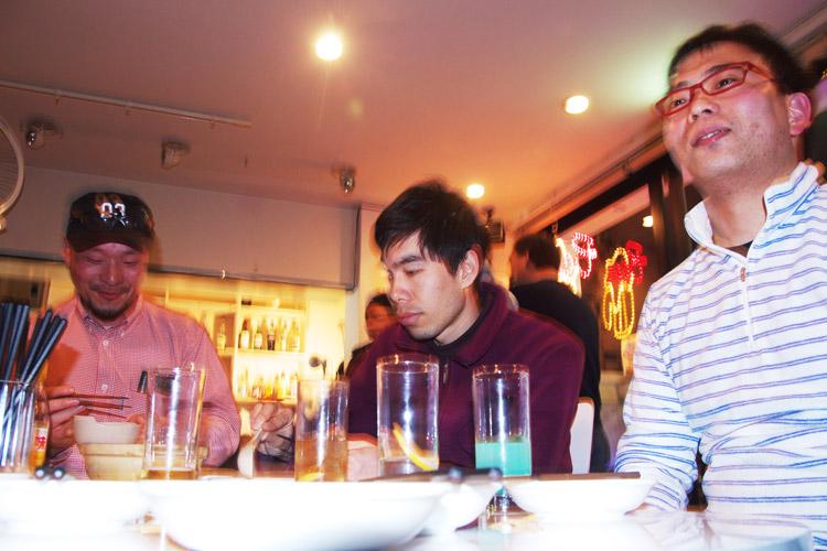 ゴホンギカフェでプチ忘年会3