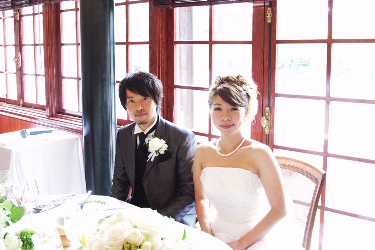 サモと珠魅の結婚式