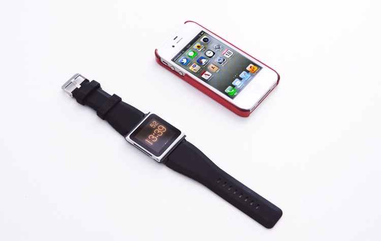 サモのiPod nano WatchとiPhone4S