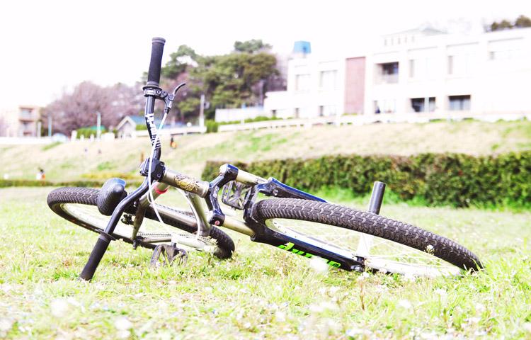 MOZUバイクと春