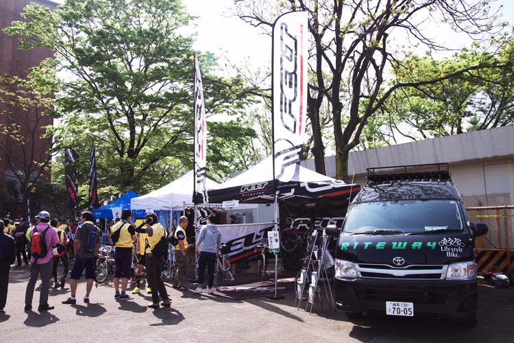 バイシクルライド2012イン東京のライトウェイブース