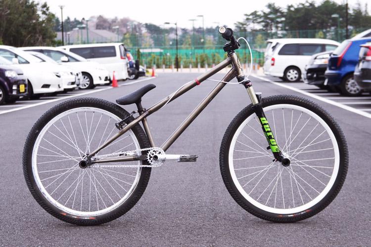 自分のbrMOZUバイク