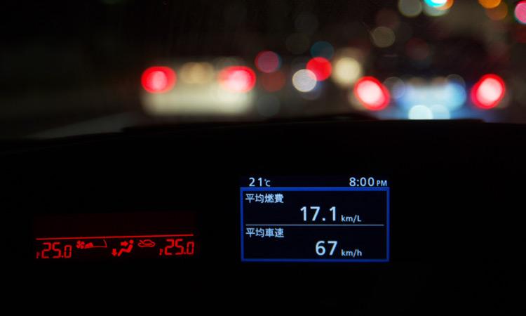 燃費アタックで平均燃費17.1km/L達成