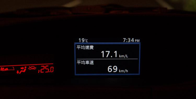燃費アタックで17.1km/L