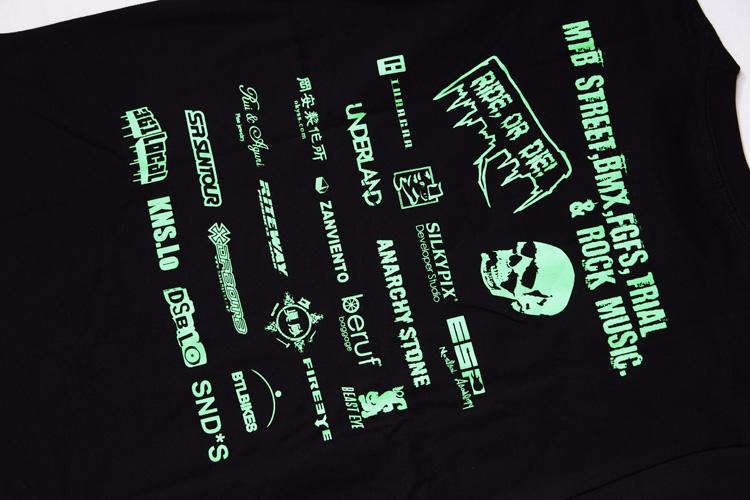 BHC Tシャツバックプリント