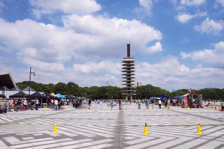 駒沢公園で第1回サイクルスピードウェイジャパン開催
