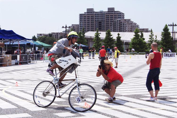 第1回サイクルスピードウェイジャパンの様子