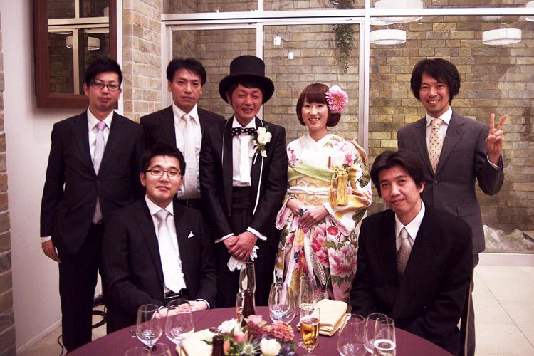 元同僚の結婚式