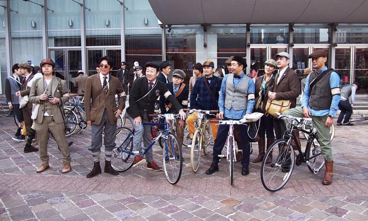 TWEED RUN TOKYO(ツイードラン東京)の参加者達