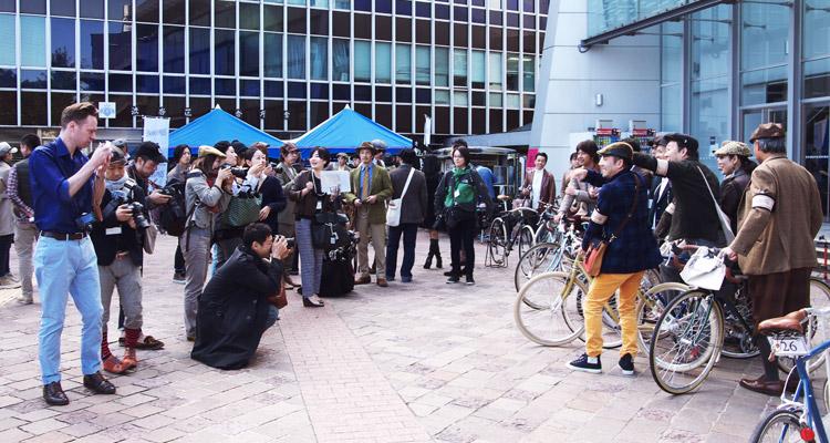 TWEED RUN TOKYO(ツイードラン東京)に多くの取材陣
