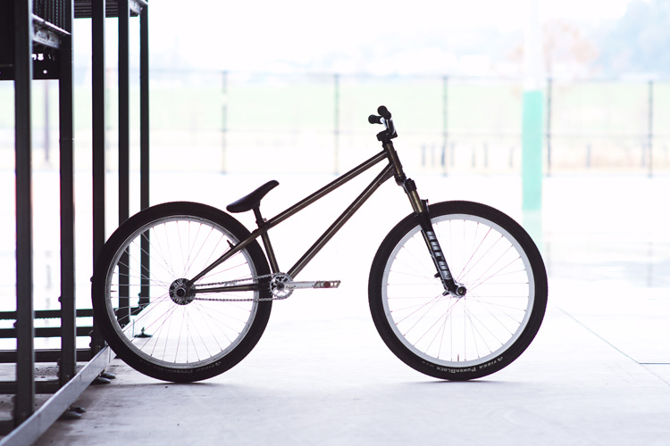 サモのMOZUバイク