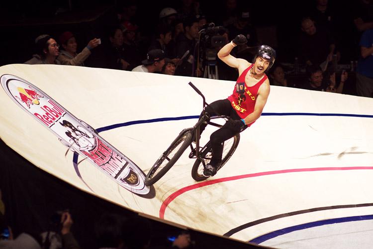 Red Bull Mini Dromeの決勝で勝ち抜いたDoggyさん