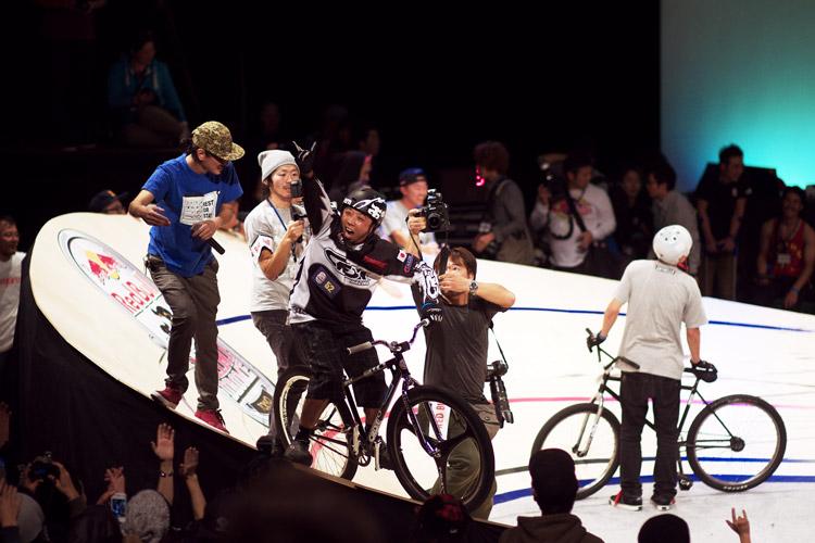 Red Bull Mini Dromeで優勝したスースーさん