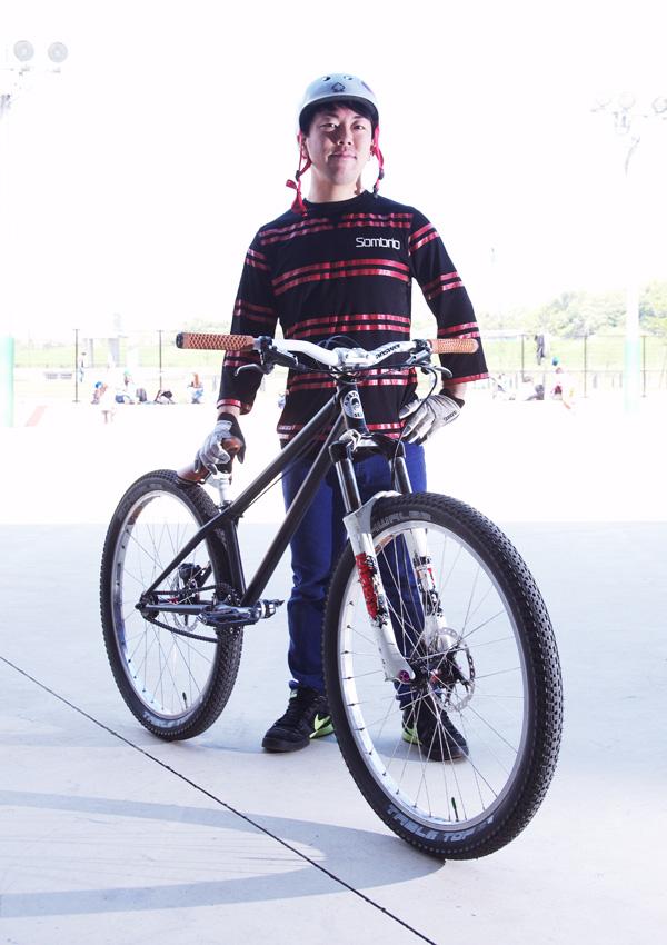 bori君のMOZUバイク