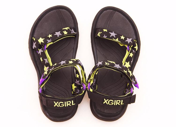 X-girl×Teva Hurricane XLT