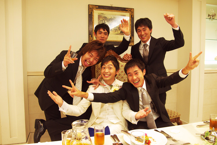 TUBAGRAライダー森田君の結婚式