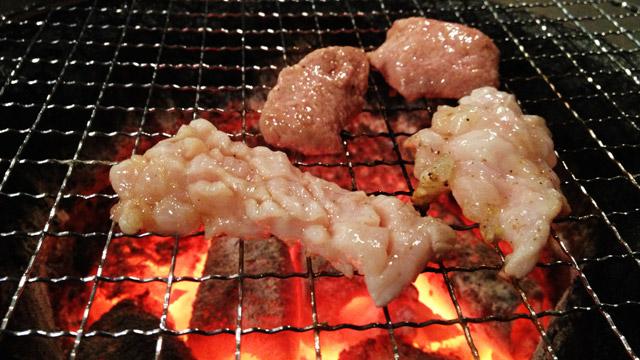 中目黒まんてんの内蔵系焼き肉