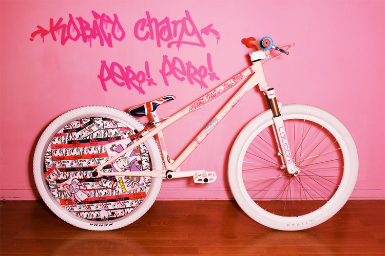 MoMoIRo bike works MOZU Bike