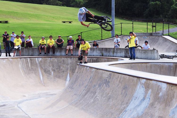 OYA-Z BMX JAM 2013 BOWL JAM