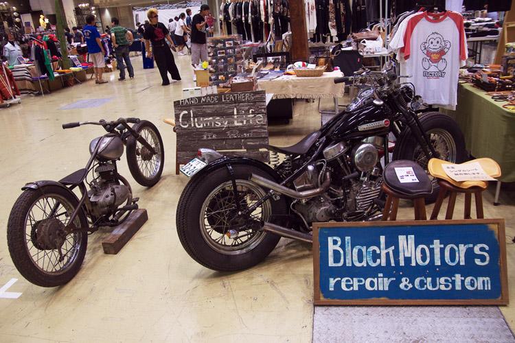 大江戸フリージャムで展示されているバイク