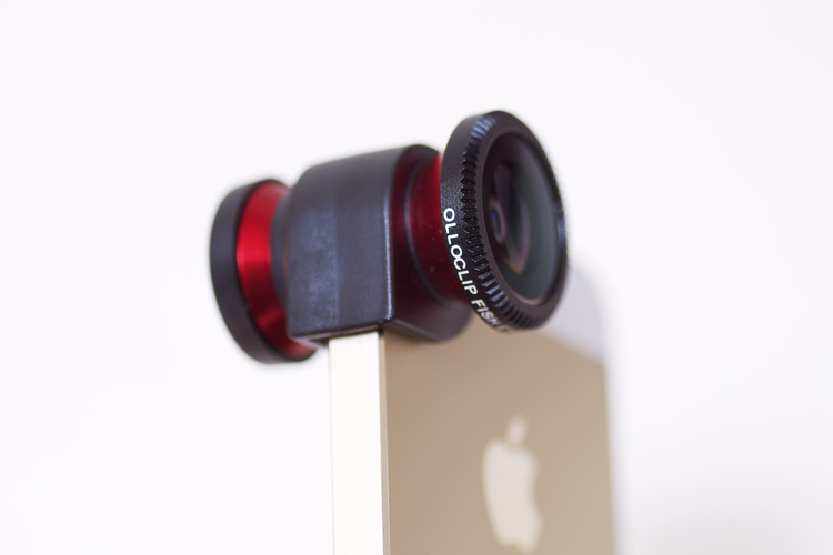 iPhone5s GOLD with olloclip 3-IN-ONE PHOTO LENS