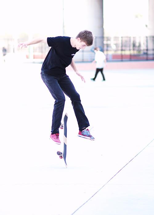 フラットランドスケートボーダーのライアン