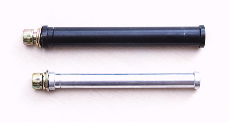 グラインドペグ装着専用15mmフロントハブシャフト