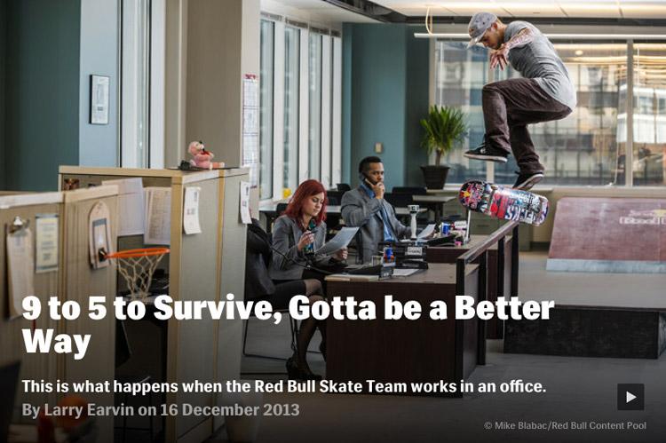 Red Bull Skateboad
