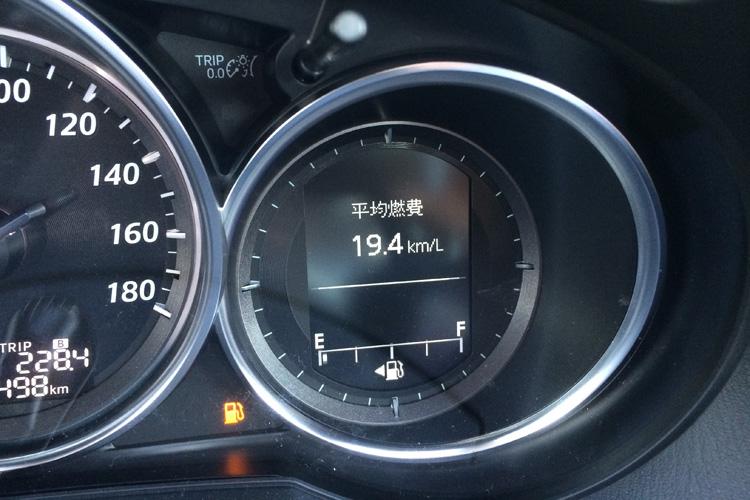 CX-5の燃費