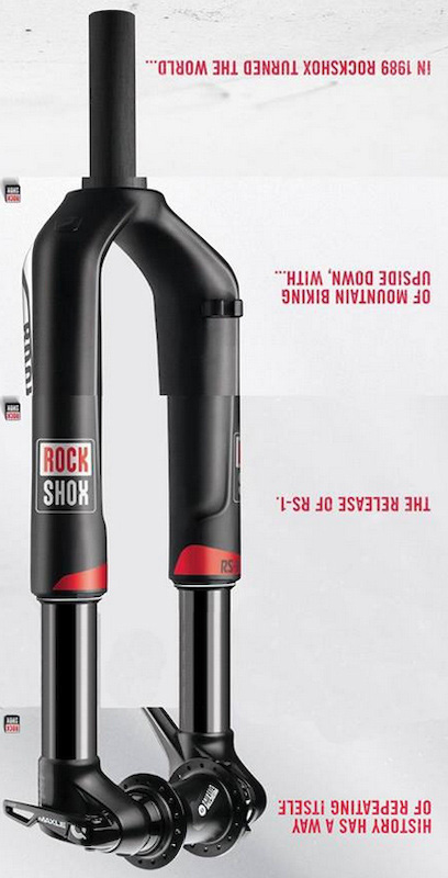 RockShox Reveals Inverted XC Fork