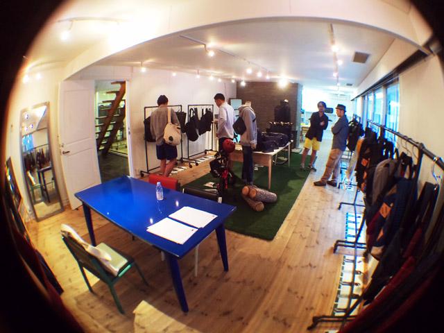 beruf baggage / ANONYM CRAFTSMAN DESIGN 2014AW 展示会