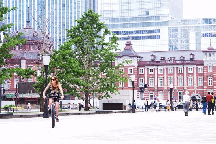東京駅とJulietさん