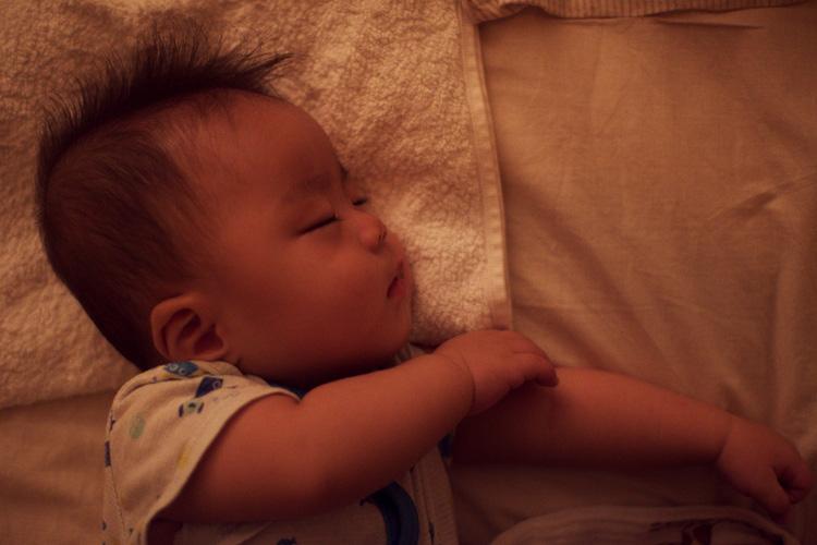 寝ている叶大