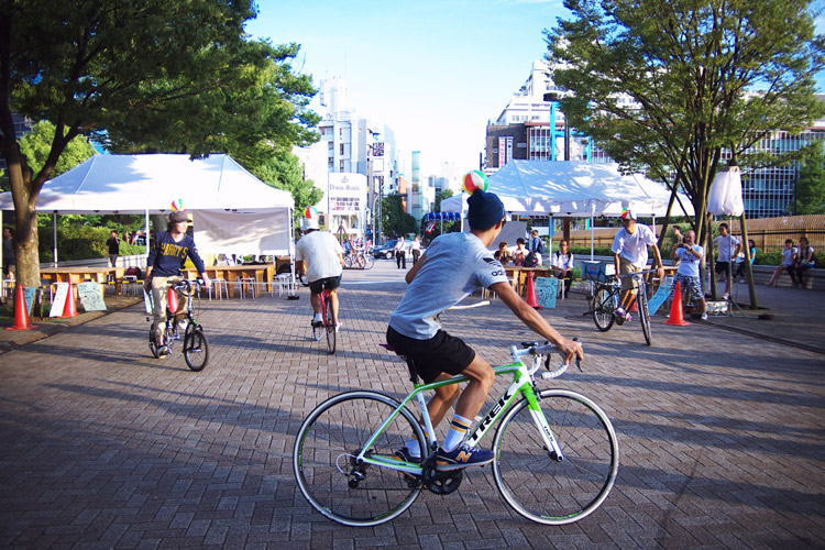 PEDAL DAY 2014バイクチャンバラ