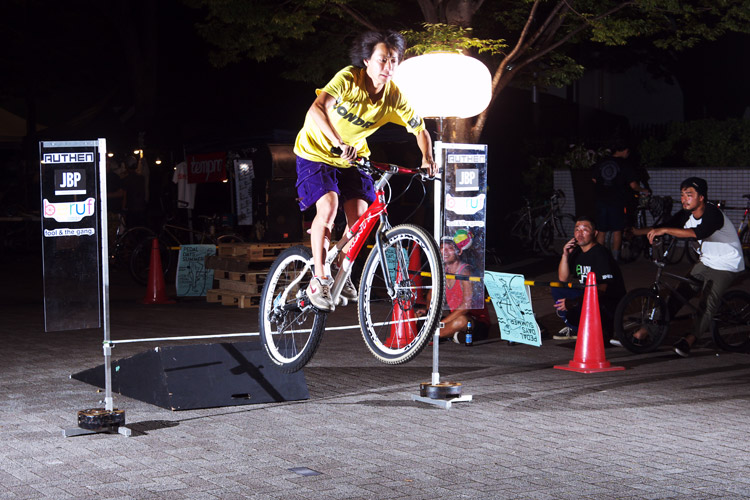 PEDAL DAY 2014 BANK BUNNY HOP CONTEST ワンコ君