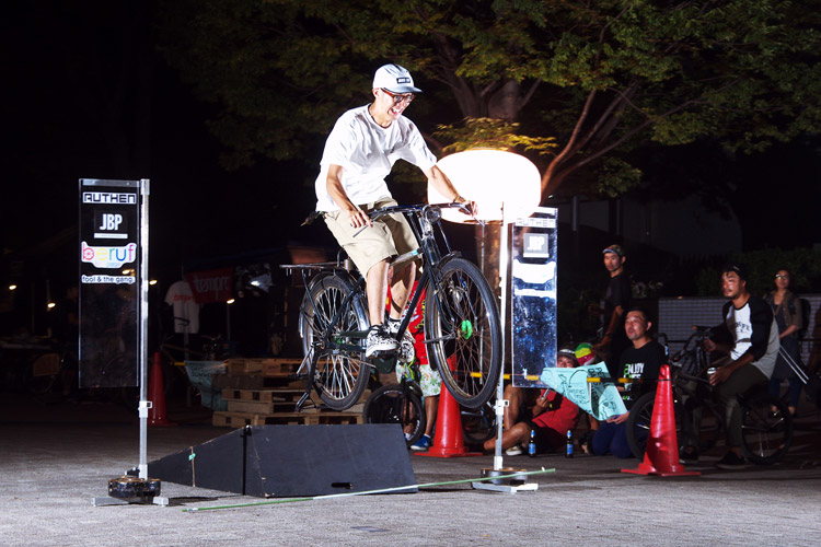 PEDAL DAY 2014 BANK BUNNY HOP CONTEST フォークさん