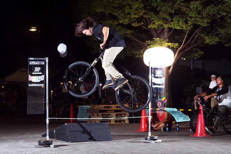PEDAL DAY 2014 BANK BUNNY HOP CONTEST アシ君の360
