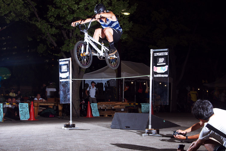 PEDAL DAY 2014 BANK BUNNY HOP CONTEST 吉井コウヘイ