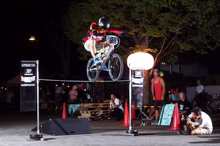 PEDAL DAY 2014 BANK BUNNY HOP CONTEST 菊池雄