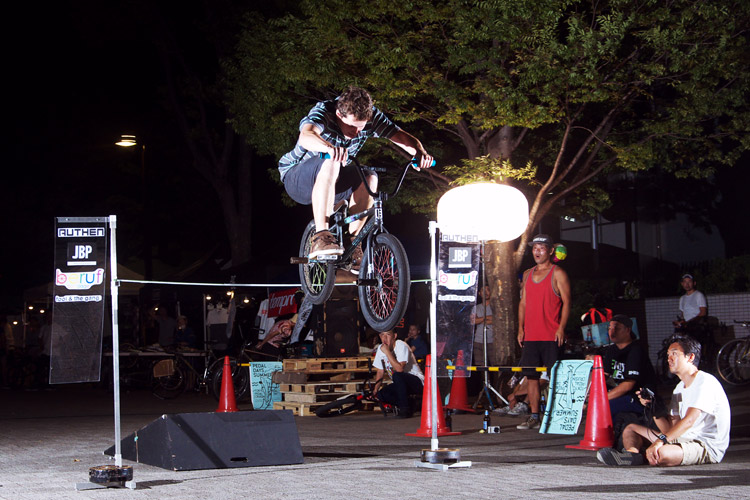 PEDAL DAY 2014 BANK BUNNY HOP CONTEST ジョッシュ