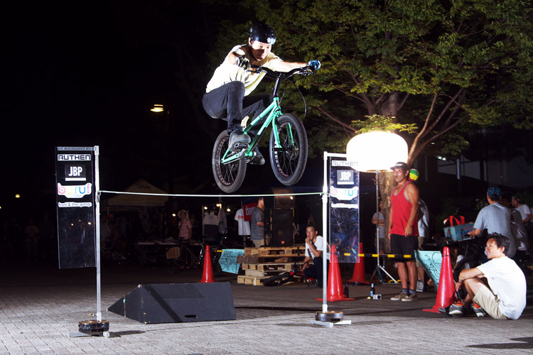 PEDAL DAY 2014 BANK BUNNY HOP CONTEST Satooさん