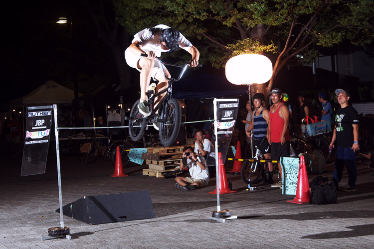 PEDAL DAY 2014 BANK BUNNY HOP CONTEST TOMMY君