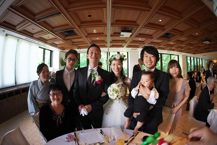 従兄弟の結婚式に参加しました