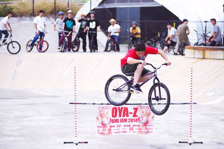 OYA-Z BMX JAMバニーホップコンテストジャイアン