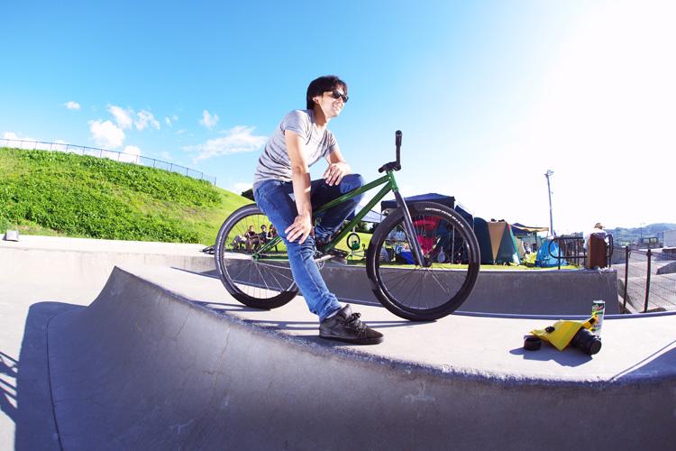 OYA-Z BMX JAM 2014kazy君