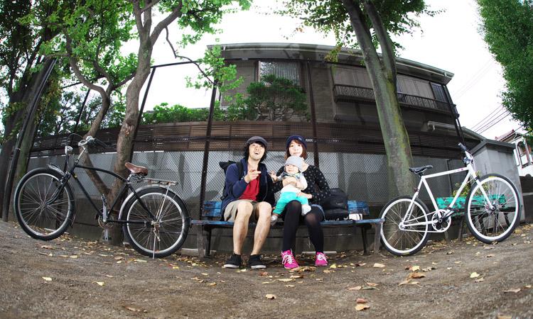 家族でサイクリングをしてきました