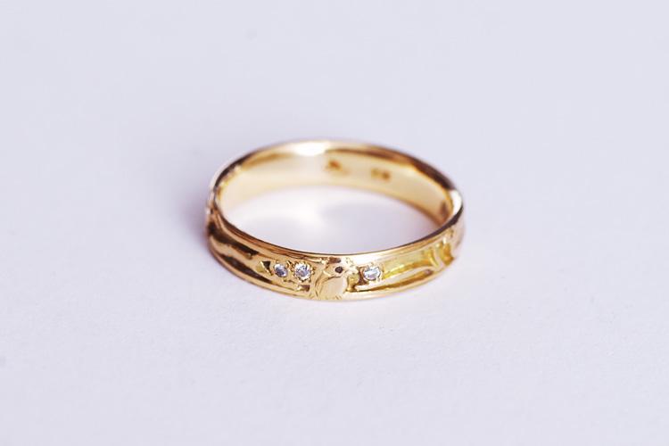 Rui & Aguri FineJewerlyのRuiさんによって修理された結婚指輪
