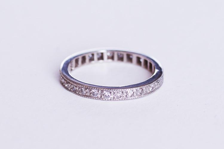 Rui & Aguri FineJewerlyのRuiさんによってクリーニングされた奥さんの結婚指輪