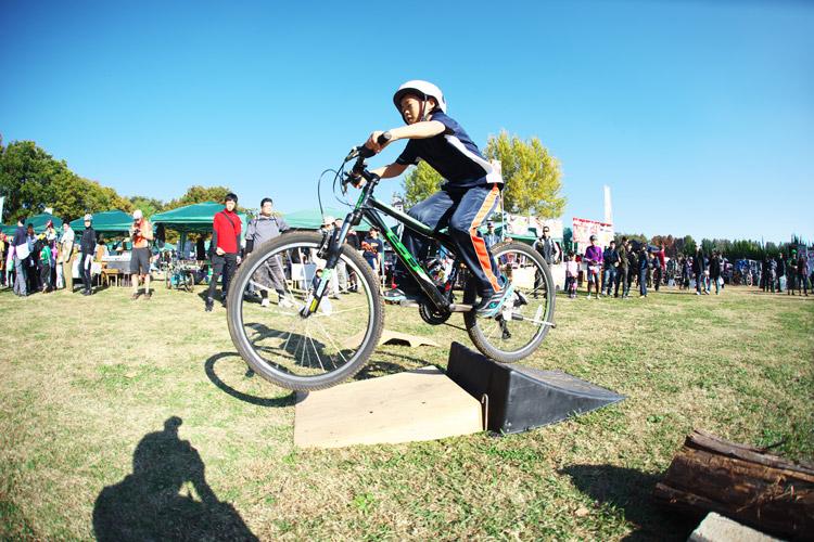 秋ヶ瀬の森バイクロア4ジャンプ体験会